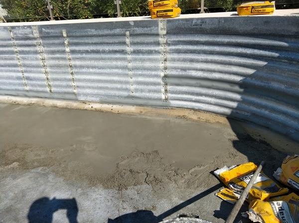 Construction vers salon de provence