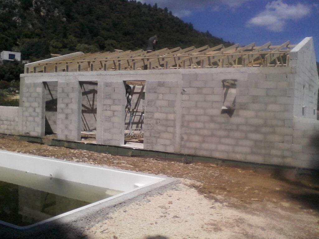 Construction à orgon