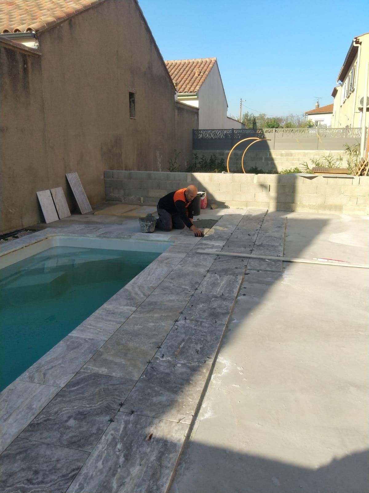 Construction piscine à Marseille