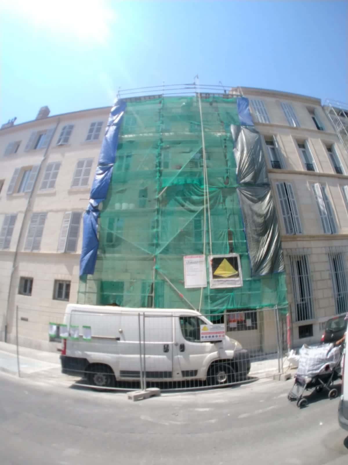 Rénovation extérieur vers Marseille